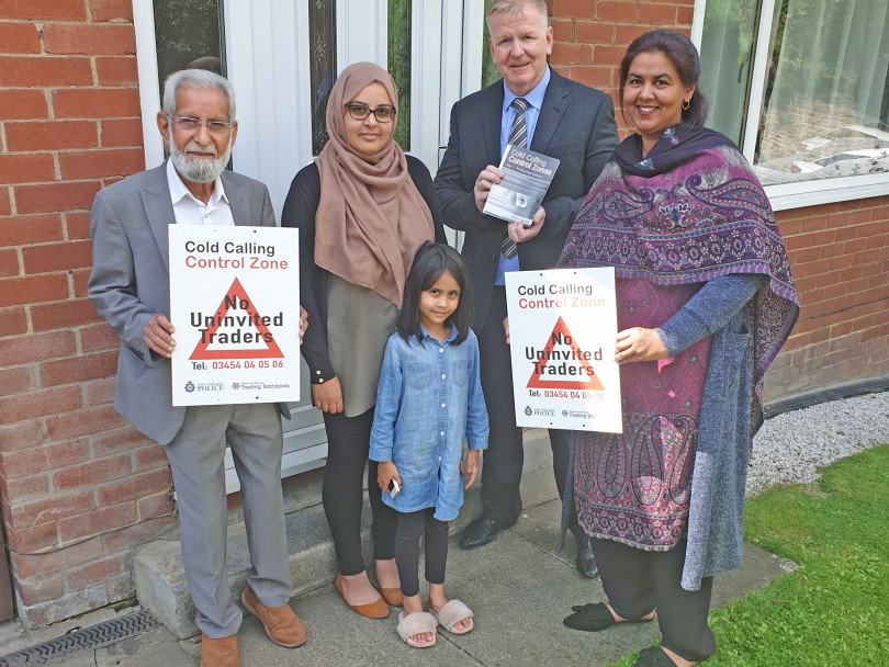 Action taken to prevent rogue traders in Batley