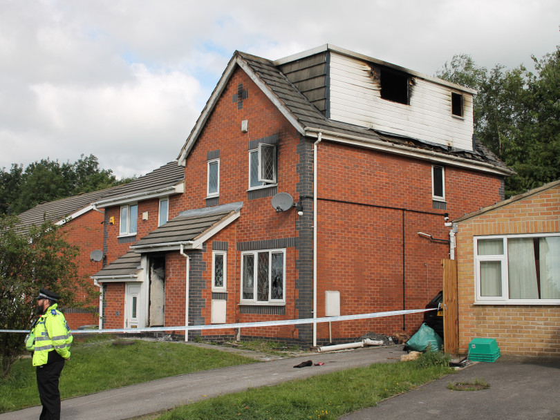 Teen seriously injured after arson attack on family home