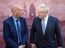 Tory candidate 'talks Dewsbury' with PM Boris