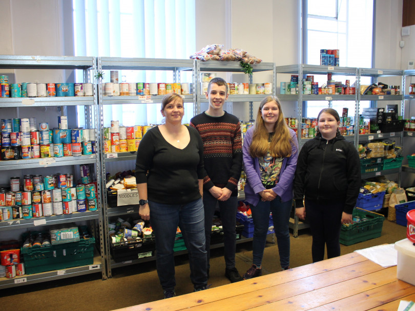 Public shows an appetite for food bank donations