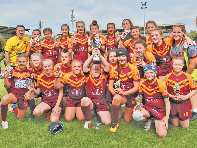 Moor claim two titles in great day of girls' action
