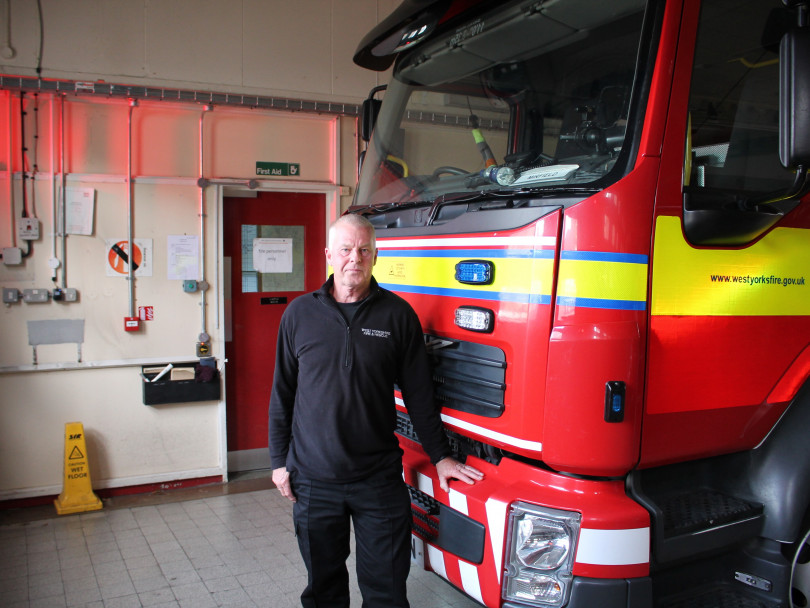 Firefighter's three decades of dedication to the district
