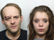 Couple jailed for race attack on security man