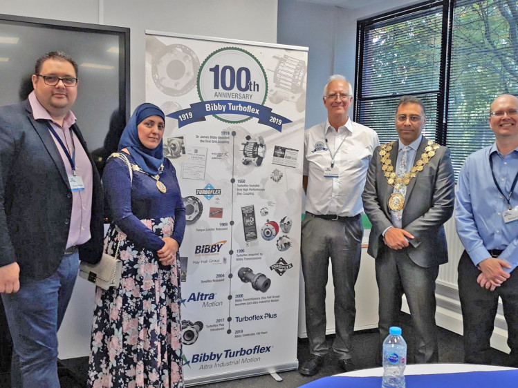 Mayor helps engineering firm celebrate 100 years