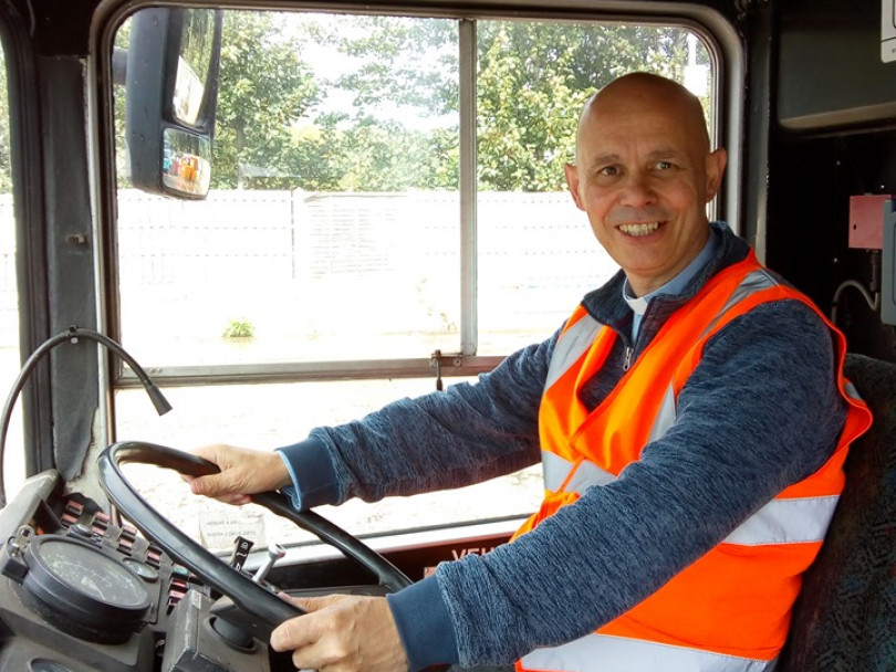 Vicar's mission – on a '211' bus