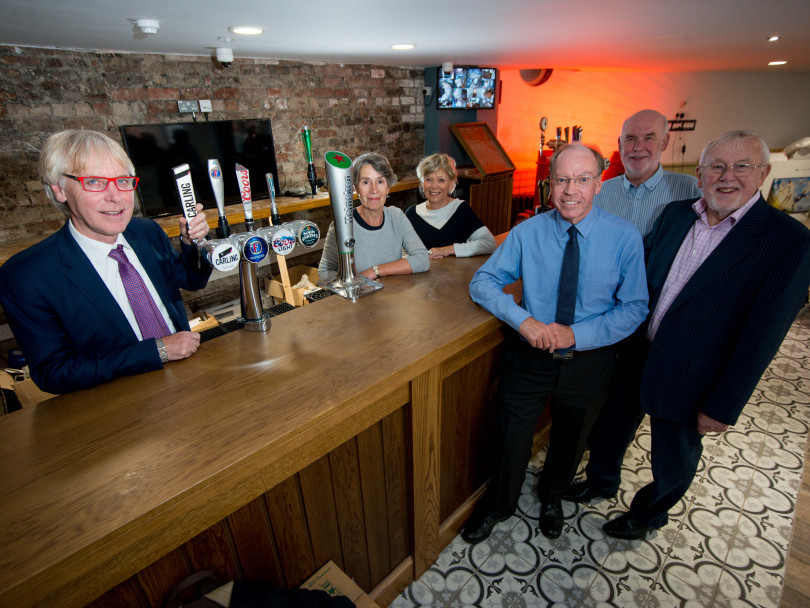 Opening time for historic pub 'sign of town revival'