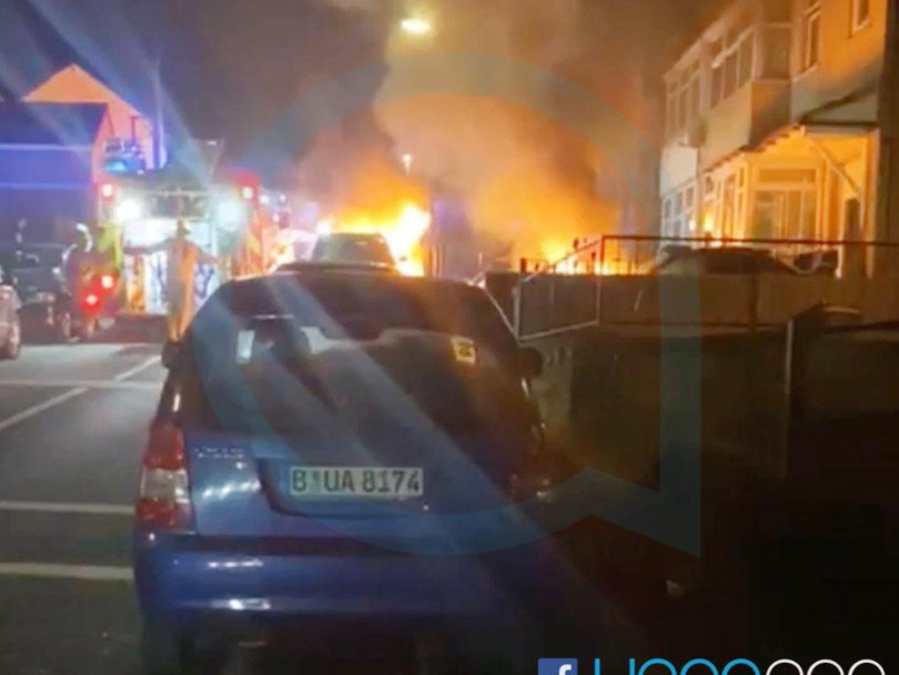 Cars destroyed in petrol bomb attack on councillor's home