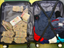 MONEY-LAUNDERING ARRESTS IN DEWSBURY AND CLECKHEATON