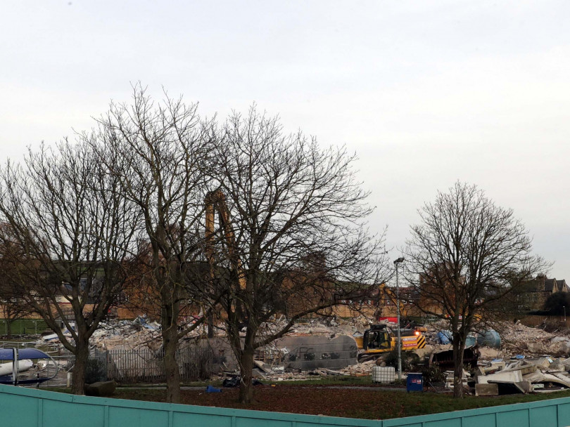 Spenborough Pool demolition ends an era