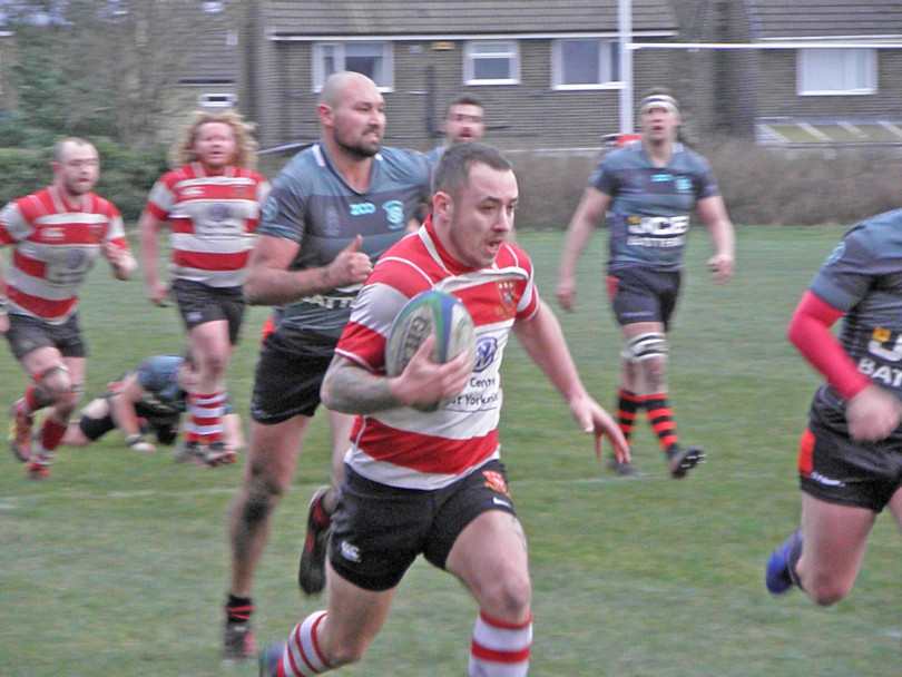 Cleck move up to second place after battling victory