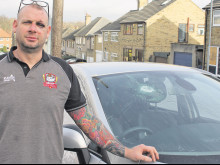 Tailgating incident leads to metal bar attack on Batley dad