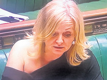 MP hits back after House of Commons 'Shouldergate' row