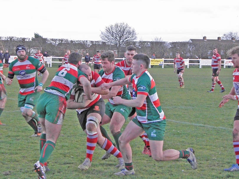 Last-minute try sees Cleck suffer shock defeat