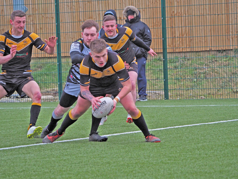 Mirfield's perfect record ends
