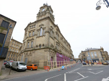 Work on Pioneer House stops as fit-out firm goes bust