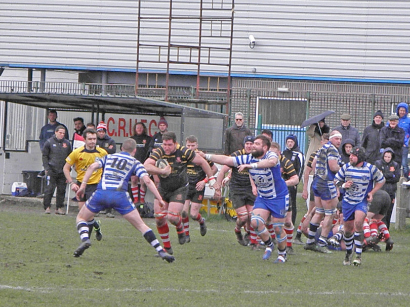 Last-gasp try sees Cleckheaton beaten